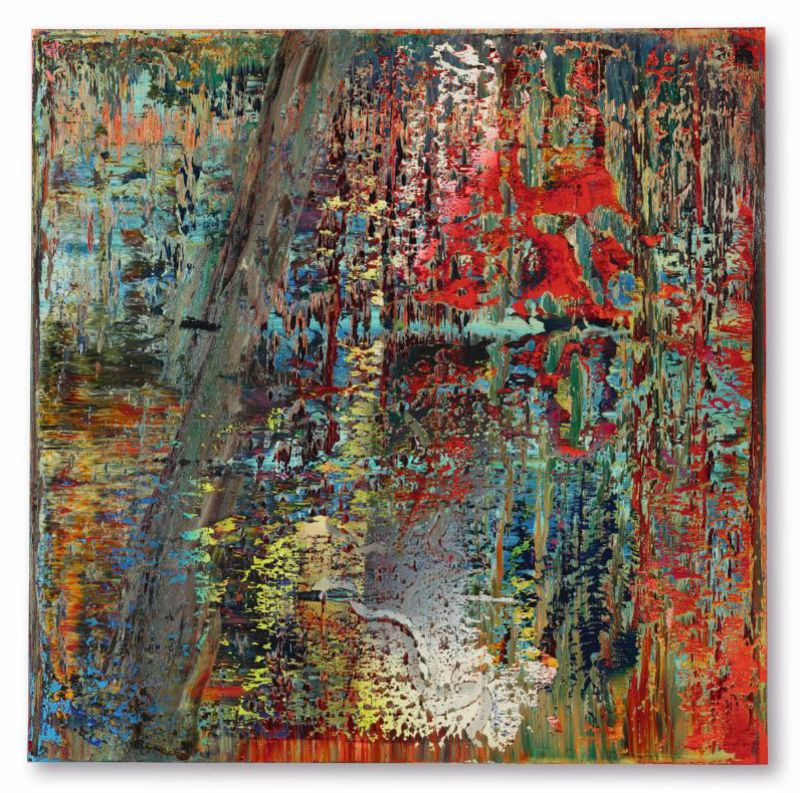 Gerhard Richter Painting Sold for $28 Million by Ron Perelman - Bloomberg