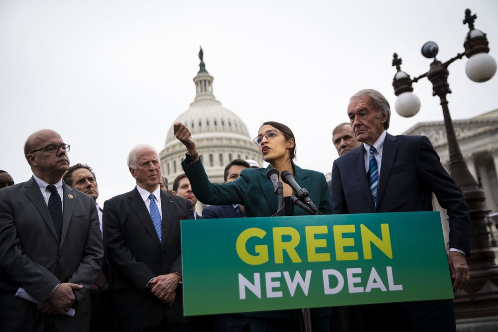Why 'Green New Deal' Has Washington in Such a Lather