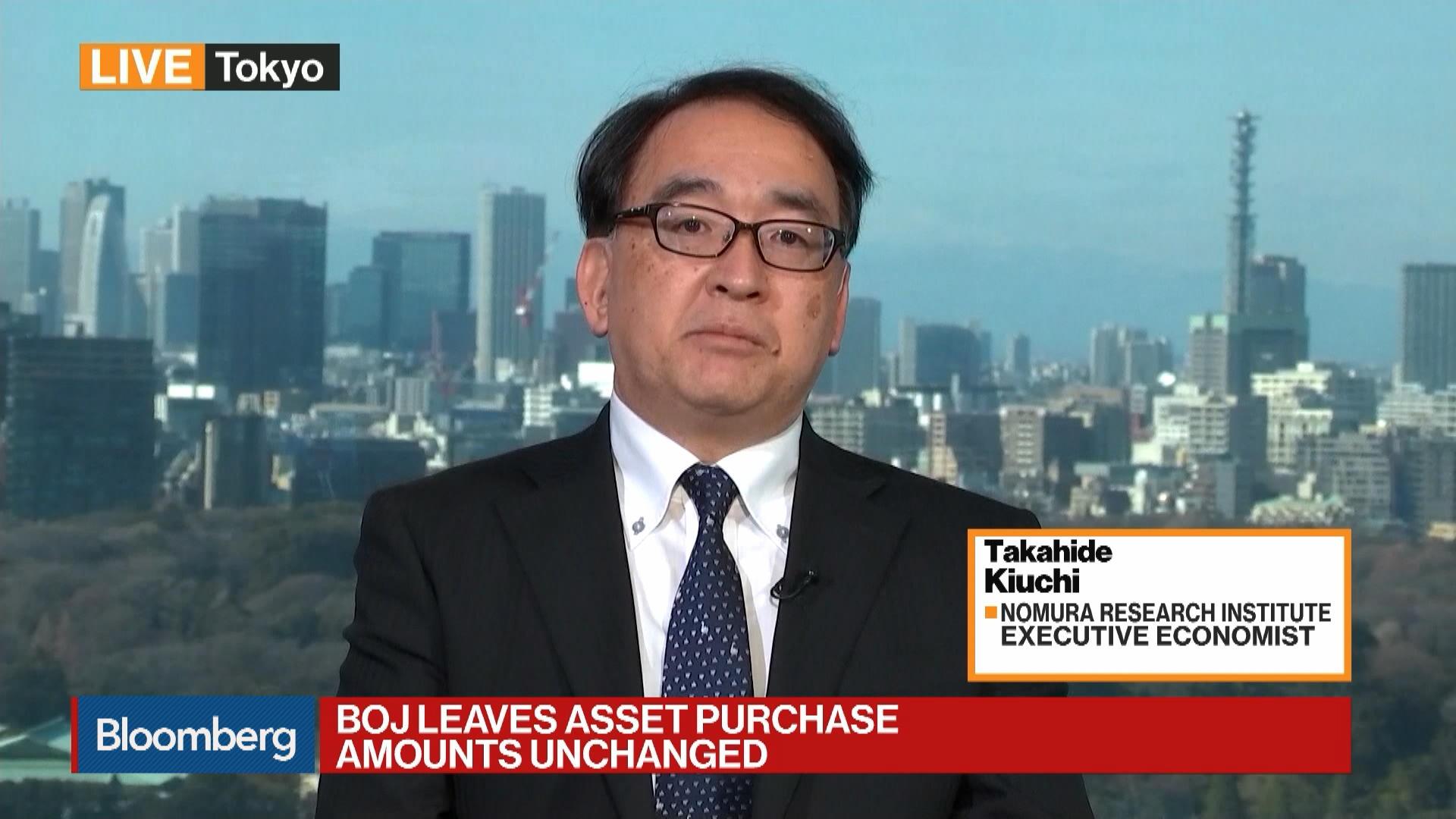 BOJ Leaves Asset Purchase Amounts Unchanged