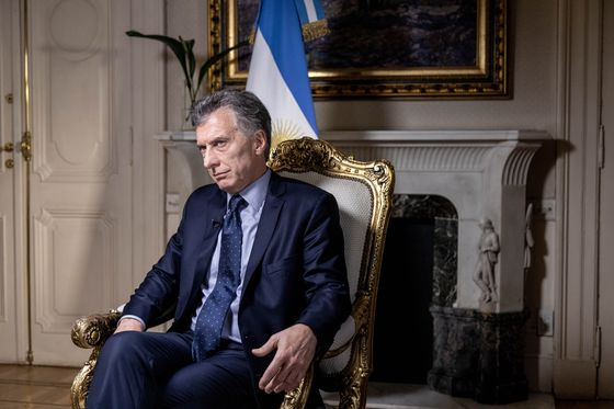 Macri Sees Argentina Steeled by Crisis, on Path to 2019 Rebound