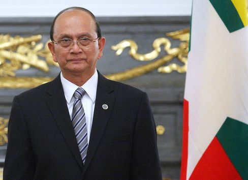 Myanmar's Ex-General Thein Sein to Showcase New Face as Reformer