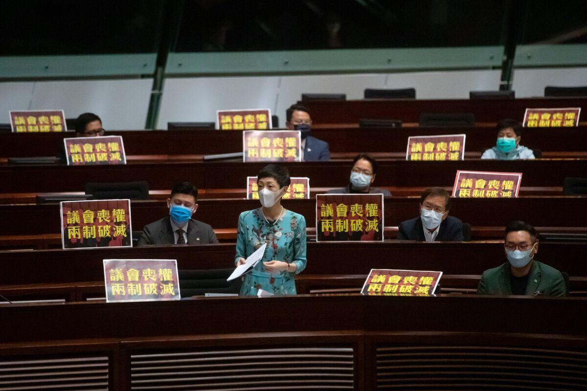 Majority of Hong Kong Democrats Plan to Remain in Office