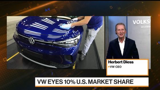 VW Deciding This Quarter on Making More EVs in U.S., CEO Says
