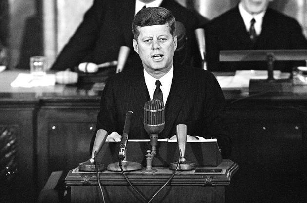 John Kennedy, 1963