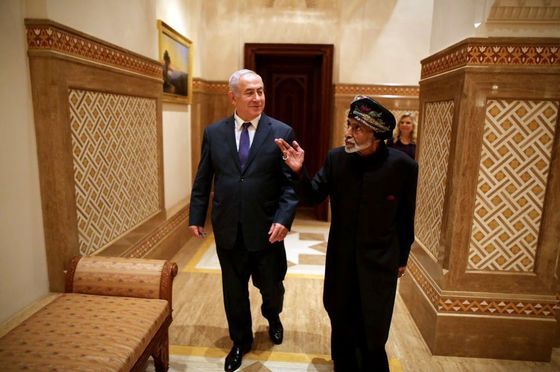 Netanyahu's Oman Visit Sets Off Israeli Cabinet Rush to Gulf