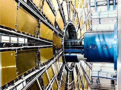 The Atlas instrument at the Large Hadron Collider is used to detect a broad range of phenomena, including the long-elusive Higgs boson, finally discovered in 2012.