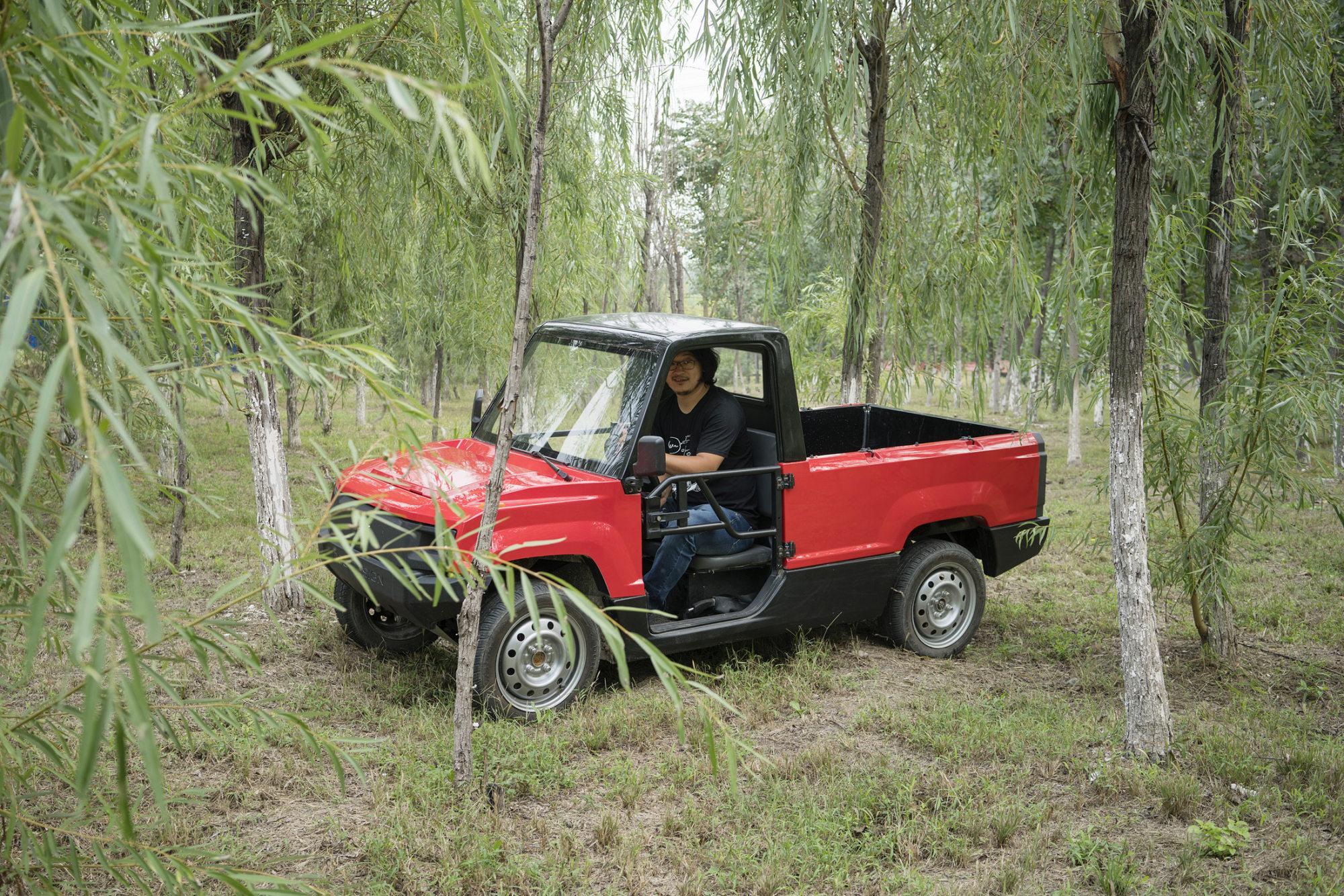 Tiny Truck Tiny Truck Maker Shows Chinas Electric Car Startups Run On Big