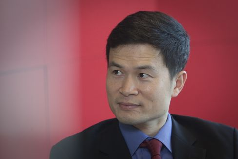 Fang Xinghai. Photographer: Nelson Ching/Bloomberg