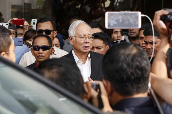 Najib Says Freezing of 1MDB-Linked Bank Accounts Unreasonable