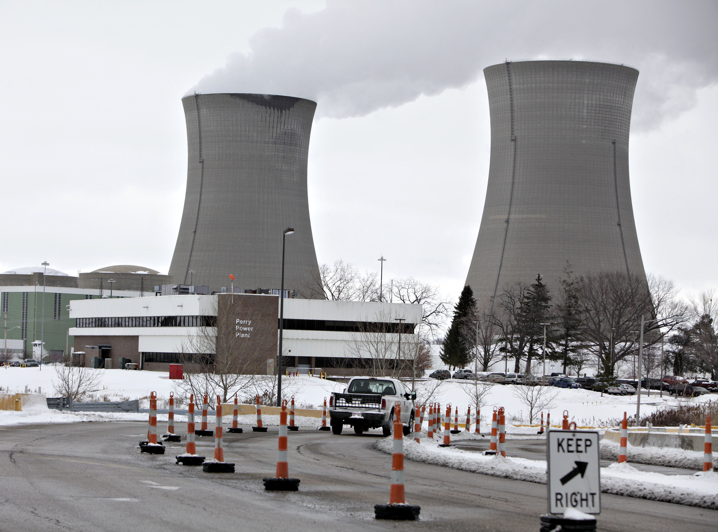The Perry Nuclear Generating Station in Perry, Ohio.