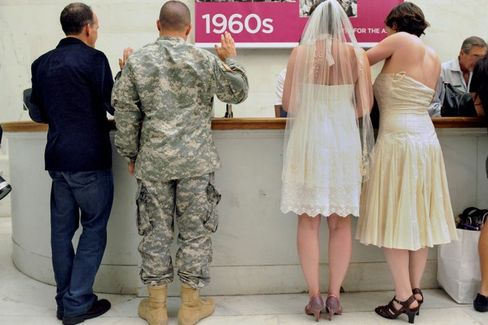 Some Federal Agencies Still Don't Recognize Same-Sex Marriages