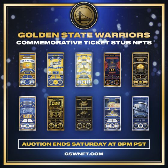 Golden State Warriors Up NFT Game With Championship Collection