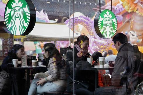 Starbucks Gets Ready to Go From Tall to Venti in China