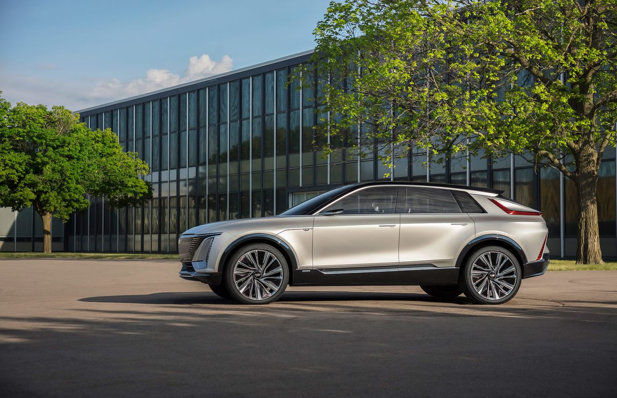 Cadillac Unveils 300-Mile Electric SUV Years Before Sales Start