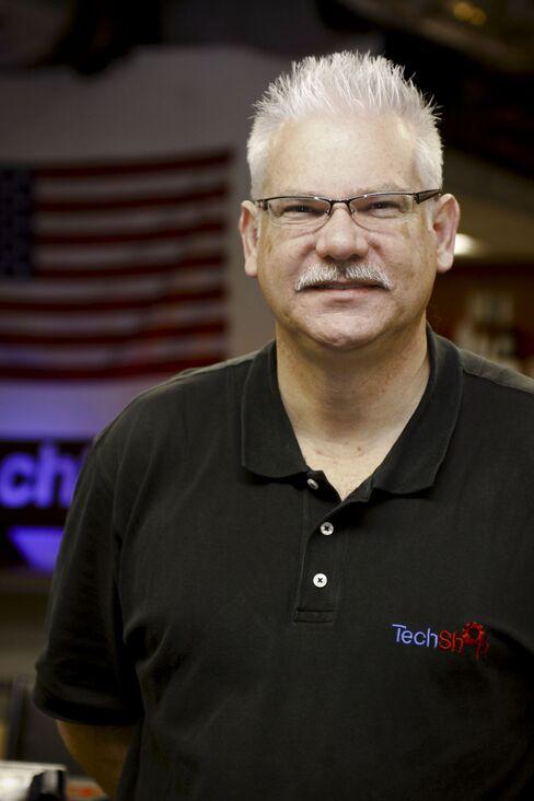 TechShop CEO Mark Hatch