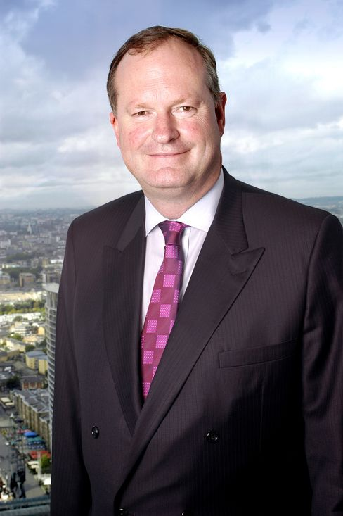Barclays Plc Finance Director Chris Lucas
