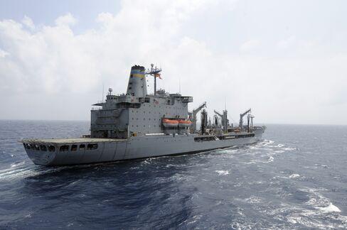 U.S. Navy Vessel Fires Upon Small Motor Boat Off Coast of Dubai