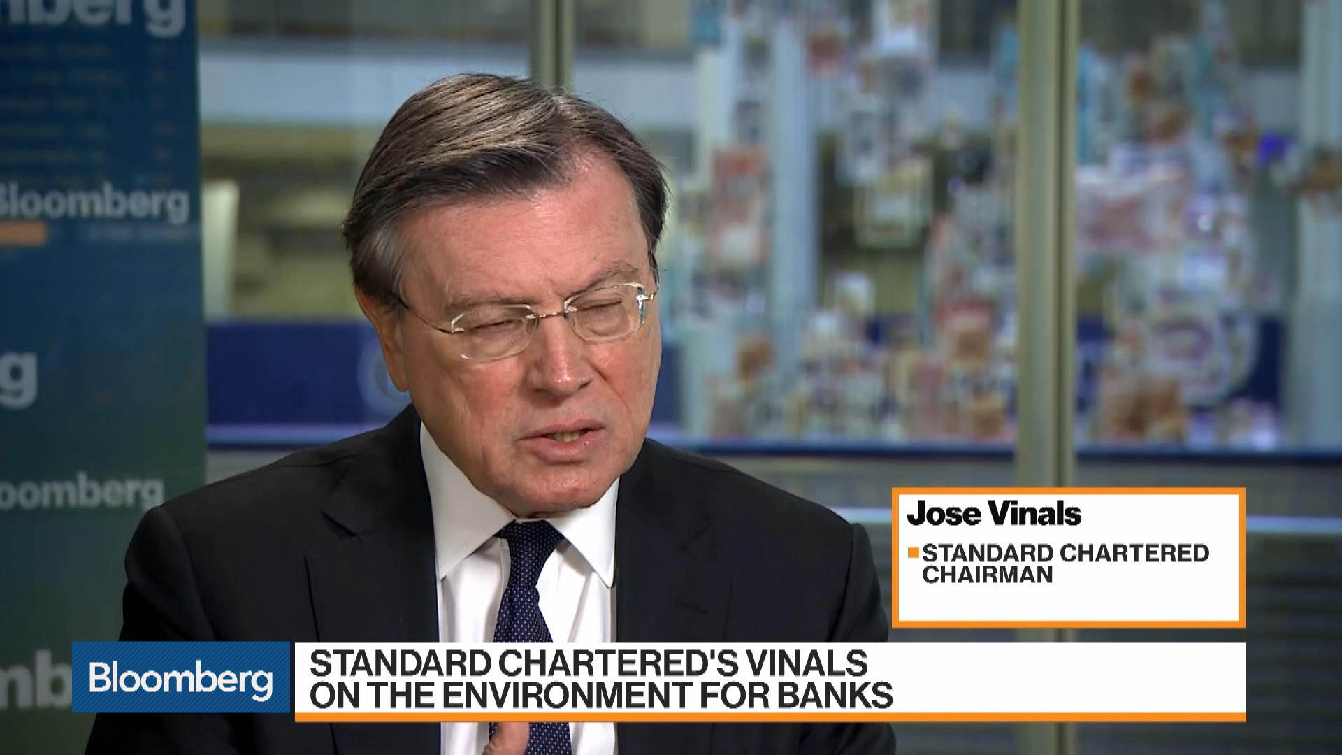 Standard Chartered's Post-Brexit Structure is Already in Operation: Chairman Vinals