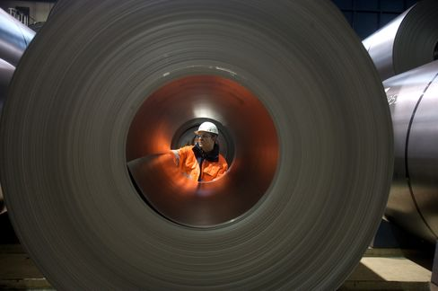 European Stocks Post Biggest Weekly Rally of 2012