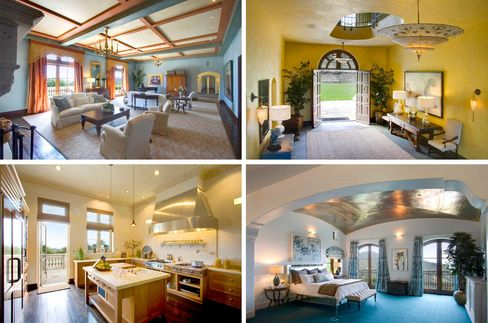 Interior views of Robin Williams's former estate, now owned by the Tesseron family from Bordeaux.