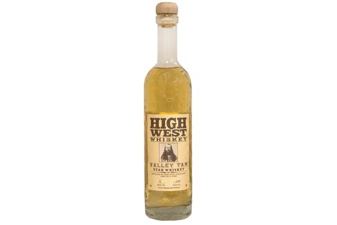 Straw-hued High West Valley Tan used to be made with oats.