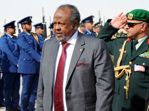 Djiboutian President Ismael Omar Guelleh
