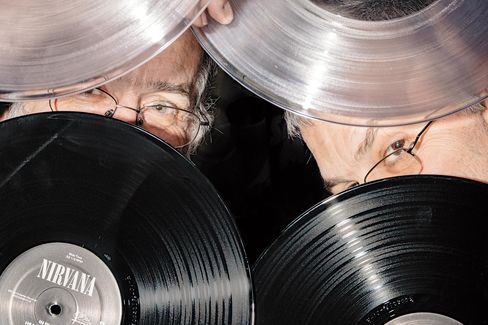 General manager Gary Salstrom (left) and founder and CEO Chad Kassem of Quality Record Pressings.