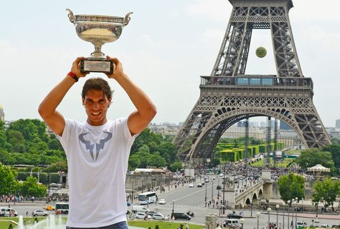 """""""Roland Garros is tennis and Roland Garros is Paris,"""" nine-time champion Rafael Nadal said last week after receiving the city's most prestigious honor, the """"Grand Vermeil,"""" from Hidalgo."""