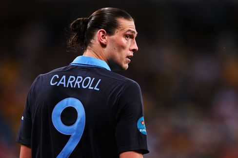 England' s Andy Carroll