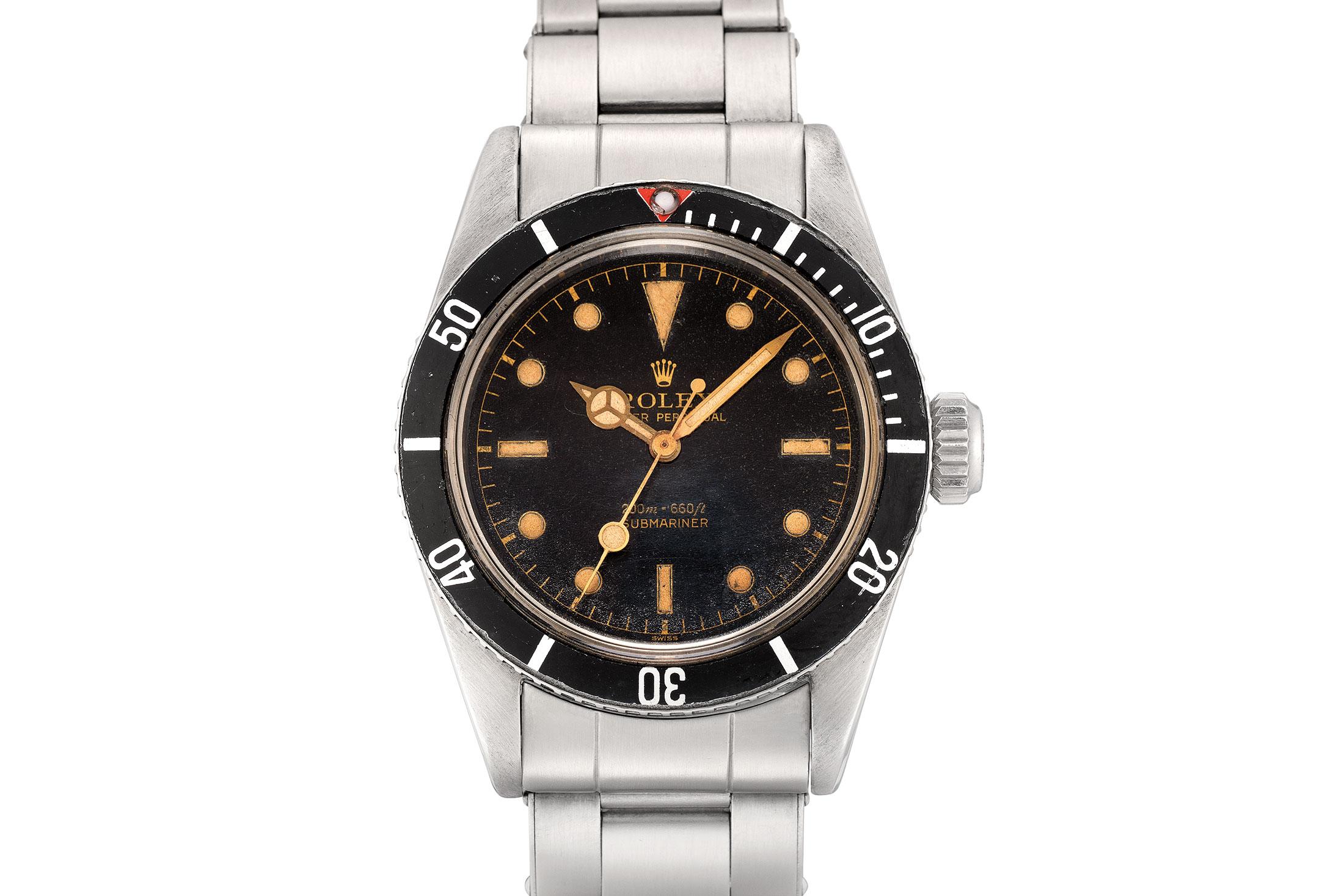 "Rolex Submariner ""Big Crown"" (Lot 224)"