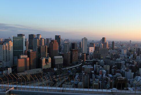 夕刻の大阪