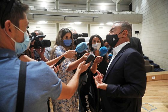 Ghosn Accomplices 'Deeply Regret' Helping Him Escape Japan
