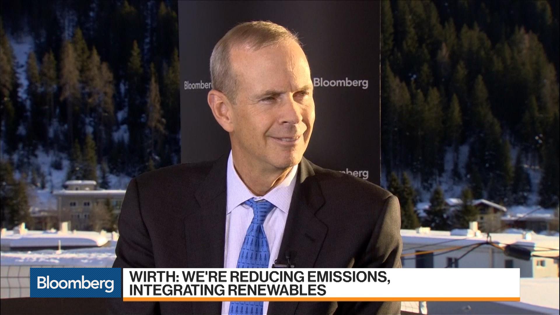 Davos: Chevron CEO Mike Wirth