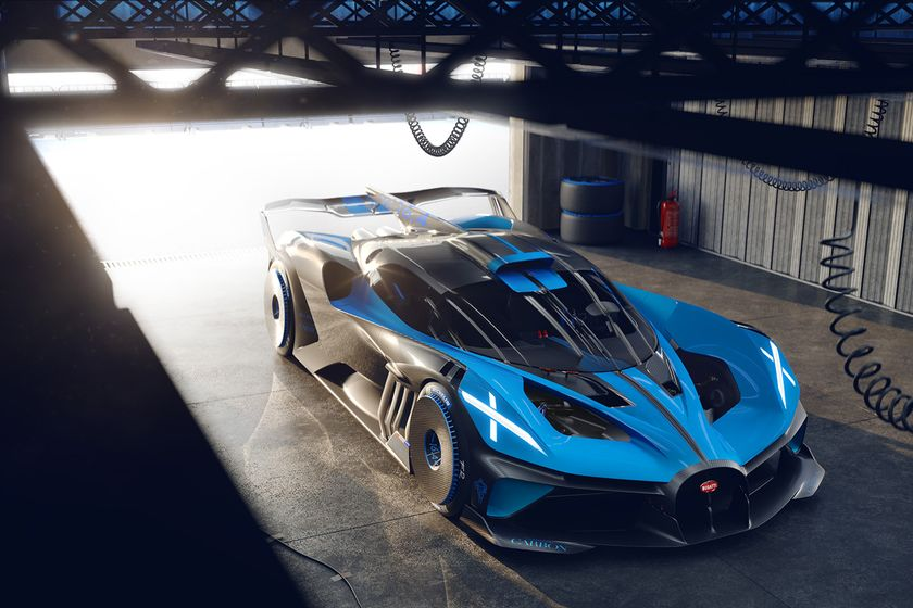 relates to The New Bugatti Bolide Is a Study in Speed Set for the Track