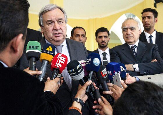 Haftar Presses Offensive on Libya Capital, Ignoring UN Chief