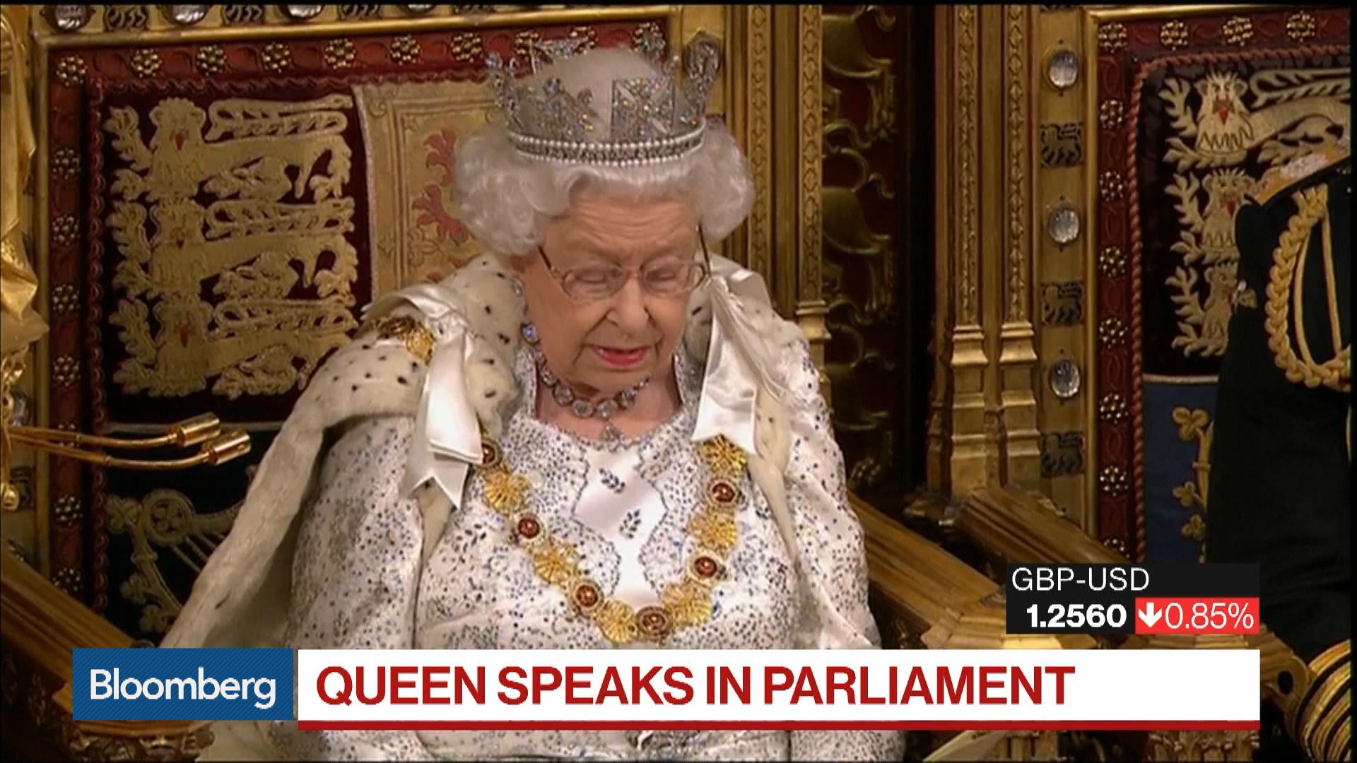 Boris Johnson's Policies Center Around Brexit as Queen Elizabeth II Sets Out U.K. Legislative Agenda