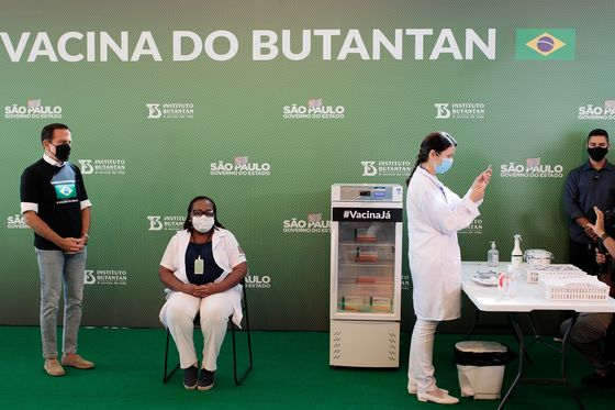 Bolsonaro Accelerates Vaccine Plan as Popularity Takes a Hit