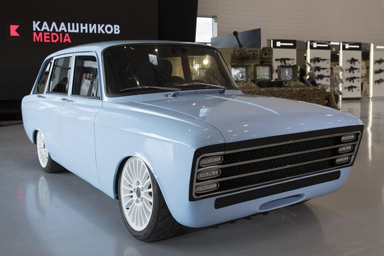 The Maker of the AK-47 IsEntering theElectric Car Market