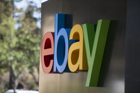 EBay's Sales Miss Estimates After Consumers Cut Online Spending