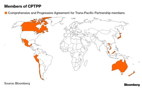U.K. to Begin Process to Join Trans-Pacific Trade Partnership