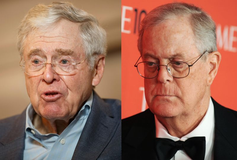 Koch brothers destroyed ACORN and PLANNED                   PARENTHOOD