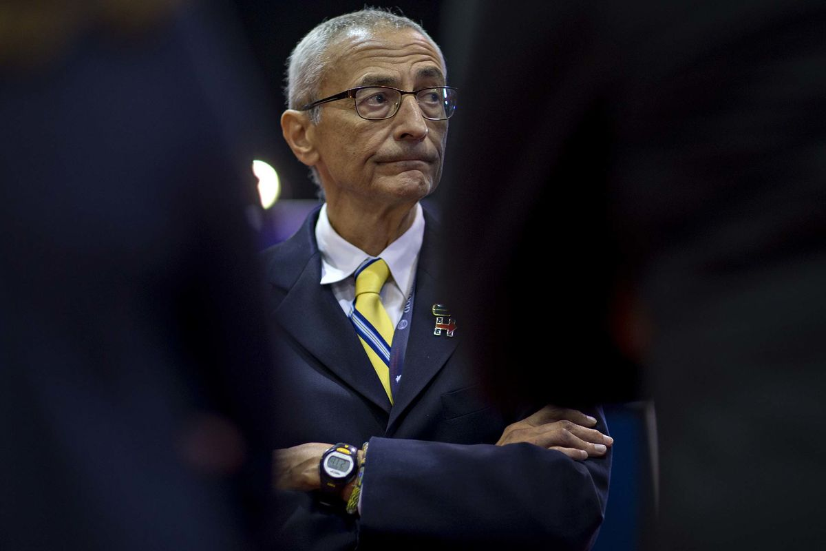 Podesta Meets With House Intelligence Panel Behind Closed Doors