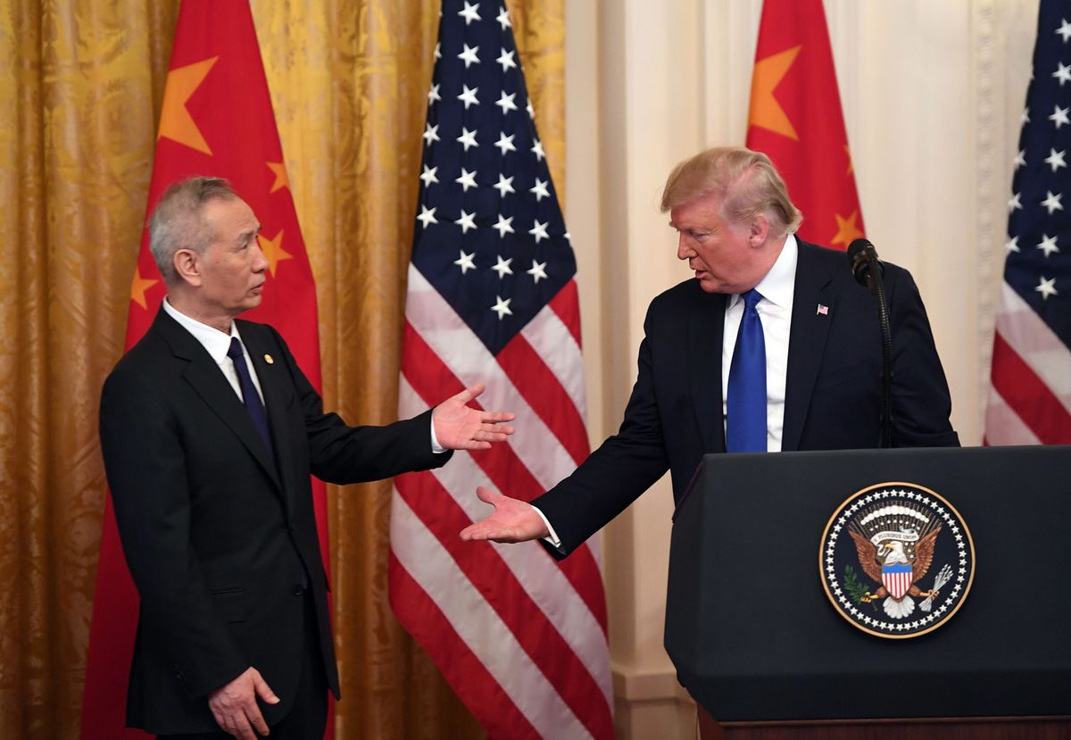 Trump's China Deal Is His Hedge Against Impeachment Damage