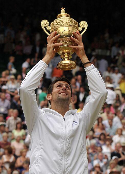 Serbian Player Novak Djokovic