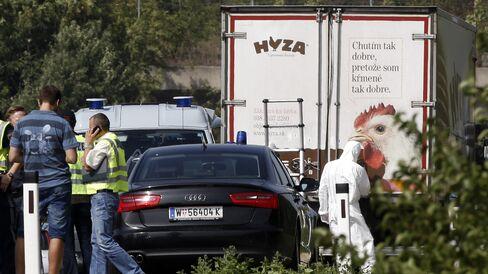 Dead Refugees Found in Truck