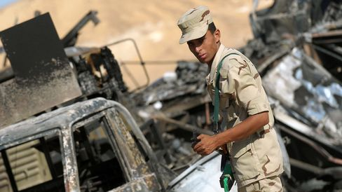 Border Troops Killed in Egypt