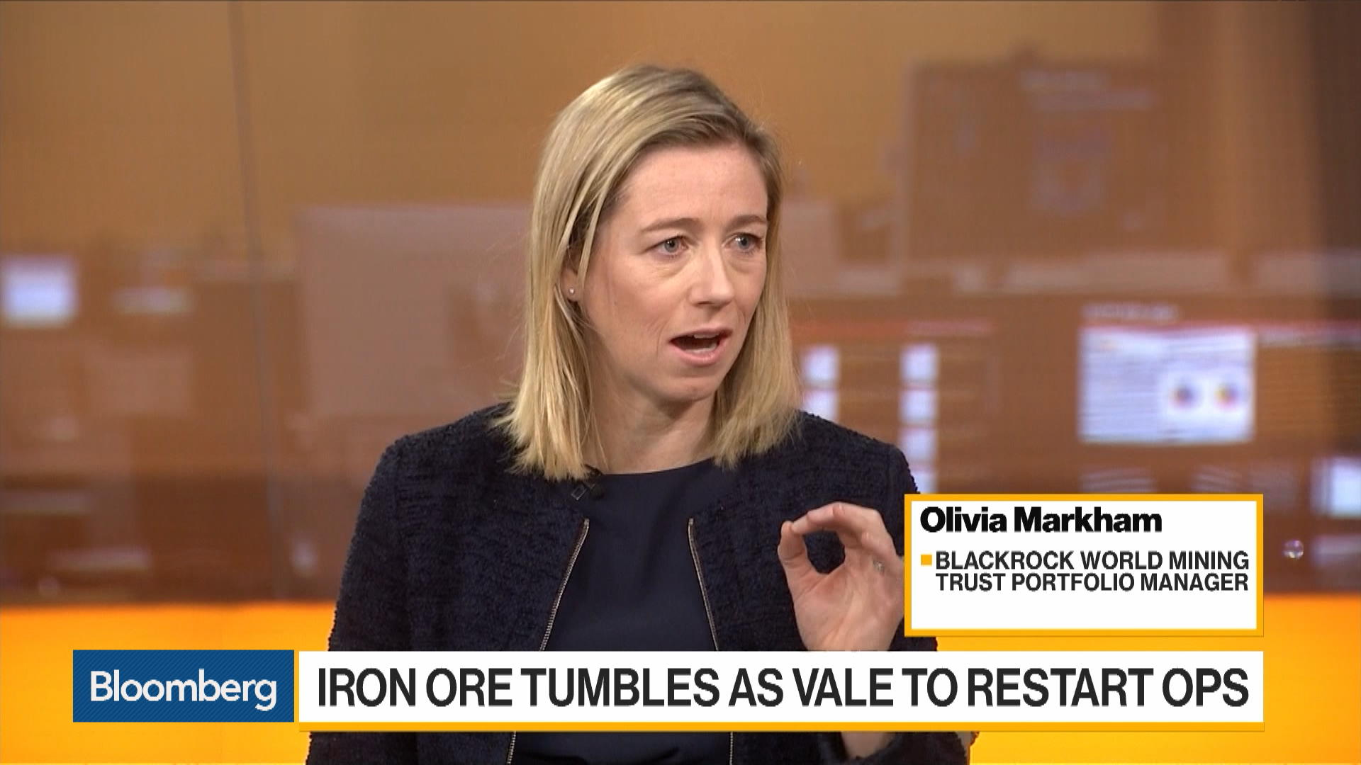 We're In the Eye of the Storm Right Now for Iron Ore Prices, Says BlackRock's Markham