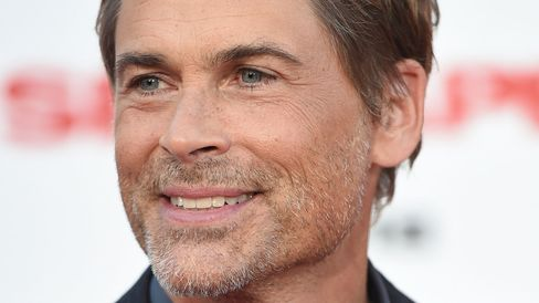 Actor Rob Lowe attends the premiere of 'Sex Tape,' at the Regency Village Theatre in Los Angeles, California, July 10, 2014.