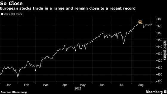 European Stocks Head Back Toward Record Amid Deals and Updates