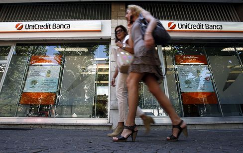 UniCredit Swings to Quarterly Profit After Year-Ago Writedowns